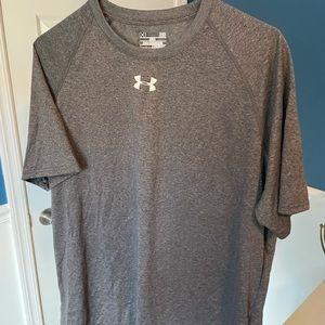 Under Armour Men's T-Shirt, L, Charcoal